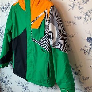 Boys volcom ski jacket
